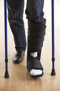 Crutches For Broken Ankle