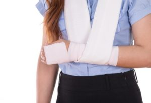 Fractured wrist treatment