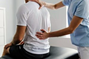 Treatment for broken back